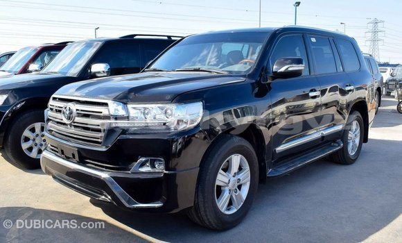 Buy Import Toyota Land Cruiser Black Car in Import - Dubai in Batken
