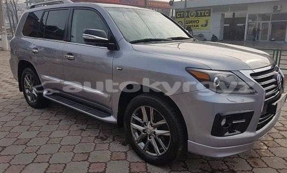 Buy Used Lexus LX 570 Silver Car in Bishkek in Bishkek