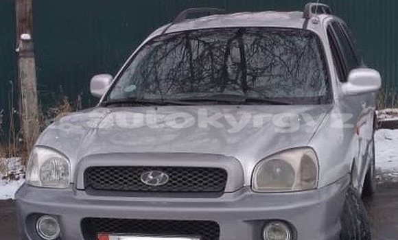 Buy Used Hyundai Santa Fe Silver Car in Bishkek in Bishkek
