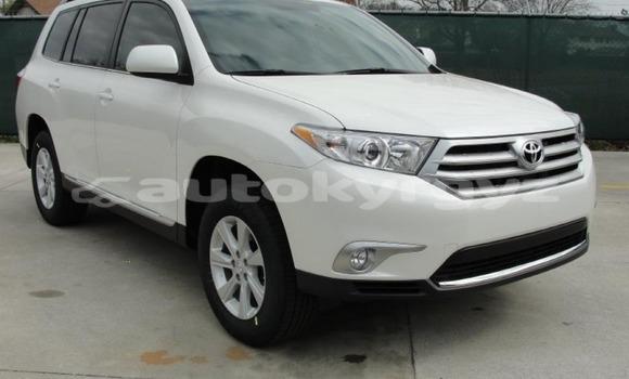 Buy Used Toyota Highlander White Car in Import - Dubai in Batken